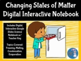Changing States of Matter Digital Interactive Science Notebook