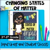 Changing States of Matter Input Chart & Student Sheets - 3