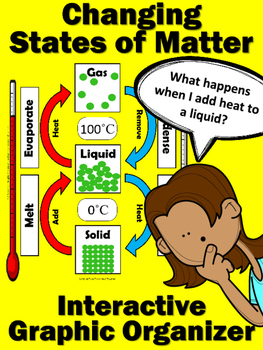 Changing States of Matter: Interactive Graphic Organizer