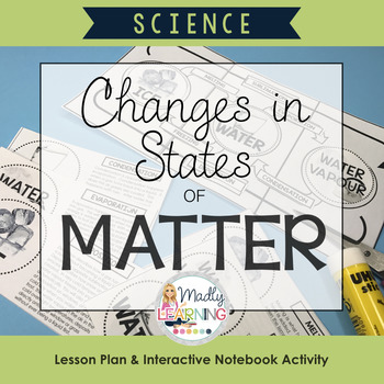ONTARIO SCIENCE: Changing States of Matter: Lesson and Interactive Activity
