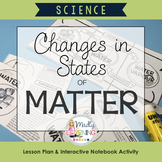 ONTARIO SCIENCE: Changing States of Matter: Lesson and Int