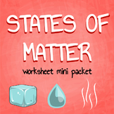 Changing States of Matter Mini Pack