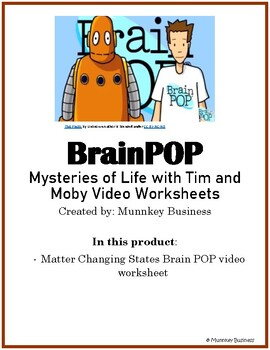 Changing States of Matter for BrainPOP video