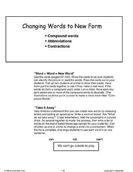 Changing Words to New Forms