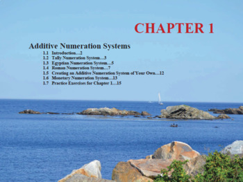Changing the Face of Math Education Book 1 Chapter 1