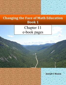 Changing the Face of Math Education Book 1 Chapter 11 e-book pages