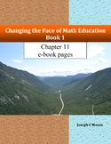 Changing the Face of Math Education Book 1 Chapter 11 e-bo
