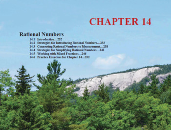 Changing the Face of Math Education Book 1 Chapter 14