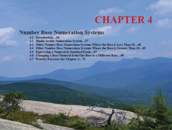 Changing the Face of Math Education Book 1 Chapter 4