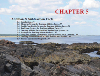 Changing the Face of Math Education Book 1 Chapter 5