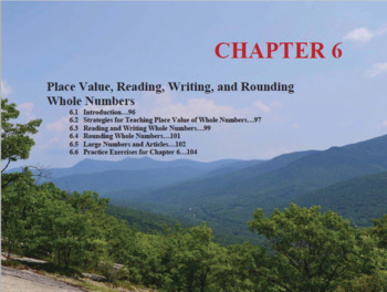 Changing the Face of Math Education Book 1 Chapter 6