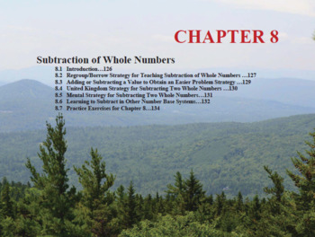 Changing the Face of Math Education Book 1 Chapter 8