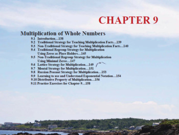 Changing the Face of Math Education Book 1 Chapter 9