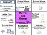 Changes of Matter 5th