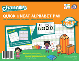 Channie's Quick & Neat Alphabet Pad