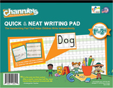 Channie's Quick & Neat Handwriting Pad for 1st - 3rd Grade