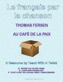Chanson - au café de la paix, Thomas Fersen. Le futur, les