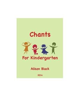 Chants For Kindergarten