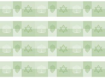 Chanukah Clip Art and Paper Bundle