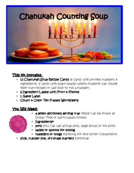 Chanukah Counting Soup