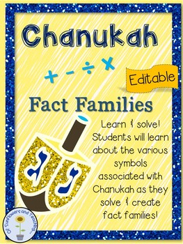 Chanukah Fact Families!