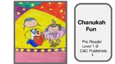 Chanukah Printable Pre-Reader Level 1-B