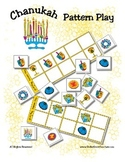 Chanukah / Hanukkah Patterning Play Game - Holiday Fun ~ E