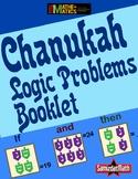 Chanukah Hanukah Hanukkah Logic & Number Problem Booklets