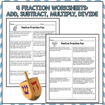 Chanukah Math Activities