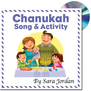 Celebrate Chanukah - MP3 Song w/ Lyrics and Activity