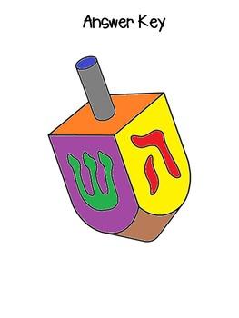 Chanukah Themed Multiplication! x3 and Editable!