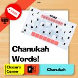 Chanukah Words - FREEBIE!
