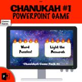 Chanukah Words/Menorah!