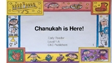 Chanukah Pre-Reader Level 1-C Printable & Full Color