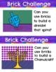 Chanukkah STEAM Challenges Task Cards