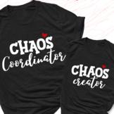 Chaos creator and Chaos coordinator Bundle Svg