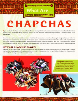 Chapchas - A Unique Rattle From Latin America