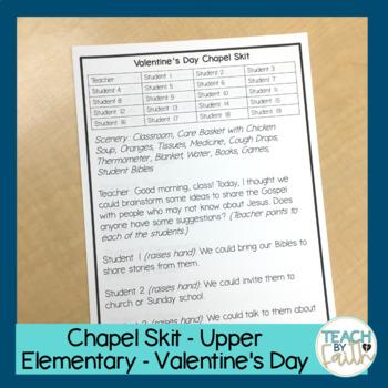 Chapel Skit - Valentine's Day - Upper Elementary
