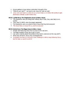 Chapel Talk Term Overview - I Have Decided