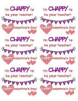 Chappy Valentine's Day