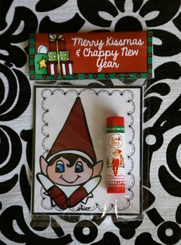 Chapstick Christmas Present for your Students