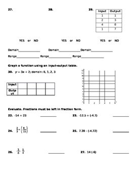 Chapter 1-2 Test Review