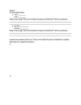 Chapter 1 Go Math 1.1-1.2 Third Grade Medium Group