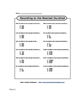 Chapter 1 Go Math 1.3-1.4 High Group Booklet