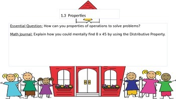 Chapter 1 Go Math Essential Questions and Journal Writing Prompts
