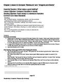 Chapter 1 Lesson 6 Ready Gen Grade 1 Compare Stellaluna to