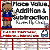Go Math 4th Grade Chapter 1 Place Value, Addition and Subtraction Math Center