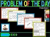 "Problem of Day Math Journal ""Go Math"" Chapter 1"