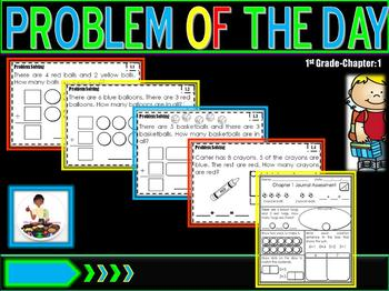 "Problem of Day Math Journal ""Go Math"" Ch. 1"