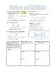 Chapter 1: Ratios and Rates Doodle Notes (Bundle)